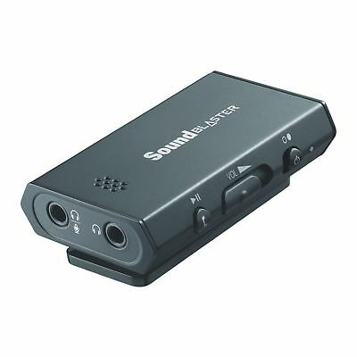 Creative Sound Blaster E1 Portable USB Sound Card and Headphone Amplifier
