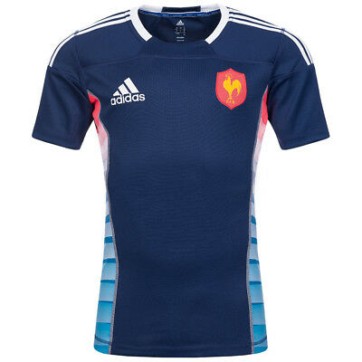 France adidas Rugby Jersey FFR Player Jersey Z38842 Men's Player Jersey new