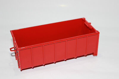 Abrollmulde 1:50 rot  NEU Abrollcontainer Container