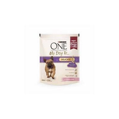 Purina One 'My Dog Is' Delicate Salmon and Rice  (800g)