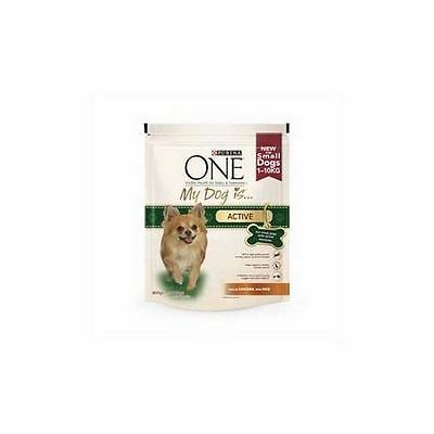 Purina One 'My Dog Is' Active Chicken and Rice  (800g)