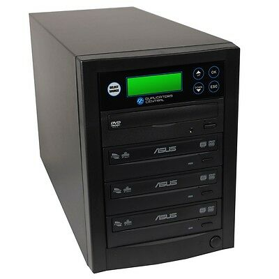 1 to 3 Dual Layer Multiple DVD/CD Discs Copy Burner Duplicator with Asus Writers