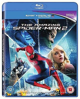 Blu-Ray The Amazing Spider-Man 2 ( Spiderman 2 )      Brand New Sealed Uk Stock