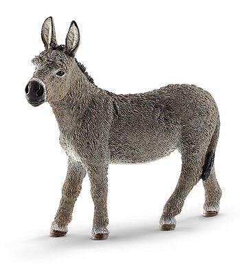 Schleich 13772 Donkey Model Burro Toy Figurine Nativity Animal - NIP