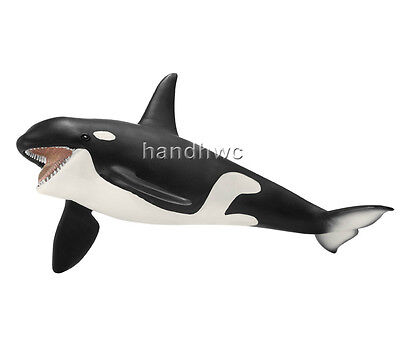 Schleich 14697 Orca Killer Whale Sealife Model Toy Figurine - NIP