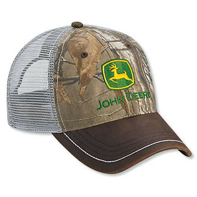 JOHN DEERE *REALTREE XTRA GREEN* MESH *WEEKEND* TRADEMARK Twill HAT CAP *NEW* C7