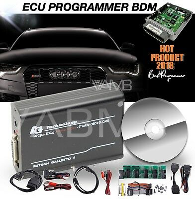 LATEST GALLETTO 4 FGTech MASTER OBD2 BDM ECU PROGRAMMER CAR TRUCK CHIP TUNING UK