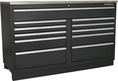 Sealey Heavy-Duty Modular Floor Cabinet 11 Drawer | 1550mm