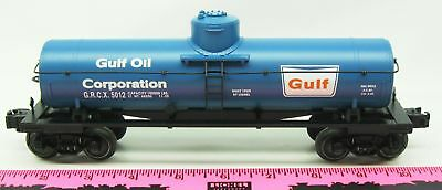 Lionel New 5012 Gulf die-cast tank car