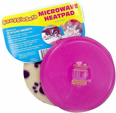 Snuggle Safe Pet Bed Microwave Heating Pad New