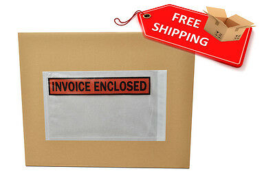 1000 5.5x10 Invoice Enclosed Front / Invoice Enclosed Packing List Envelopes
