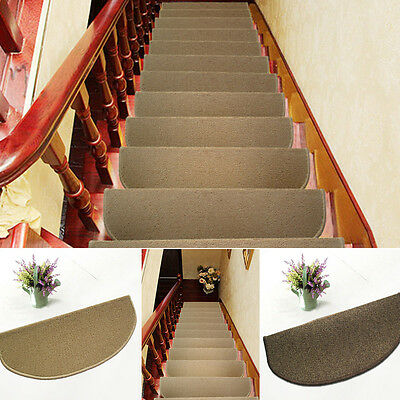 Hot Sisal Staircase Mat Self-adhesive Self-absorption Non-slip Stair Mat Popular