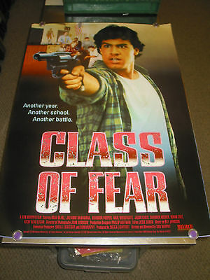 Class Of Fear /orig. U.s. One Sh.  Movie Poster (Lisa Rinna)