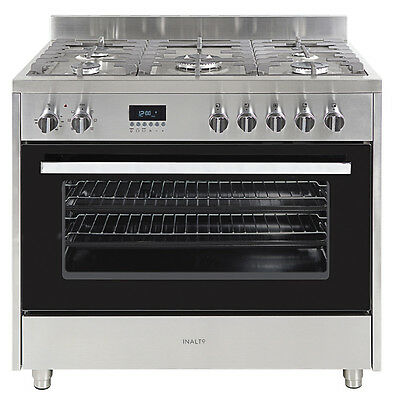 NEW Inalto 90cm 110L Dual Fuel Freestanding Oven/Stove IF9EG