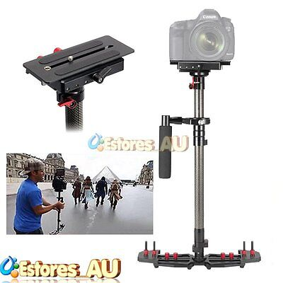 【AU】HD2000 Carbon Fiber Steadicam Handheld Stabilizer For Camcorder DSLR Camera