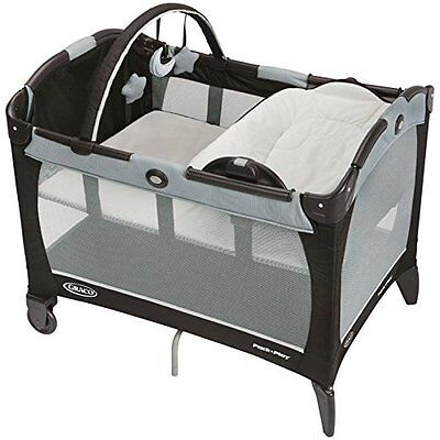 Graco Pack 'N Play Playard With Reversible Napper & Changer Coco Very Good