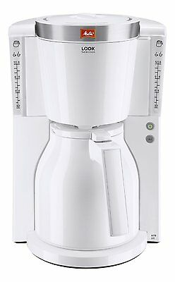 Melitta 1011-11 Look Iv Therm Filter Coffee Maker White