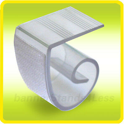 """50 QTY Pack - Table Skirt Platic Clip for Wedding Party Banquet 1"""" - 2.5"""""""