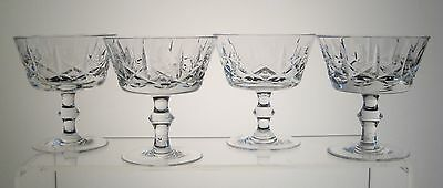 "CROSS and OLIVE Champagne/Sherbets 4"", SET of FOUR, SEARS or The BAY"