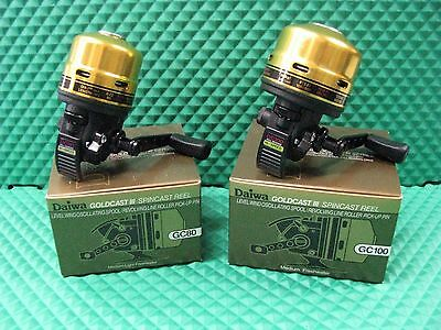 Daiwa GoldCast III Spincast Fishing Reel GC80 OR GC100 CHOOSE MODEL!!