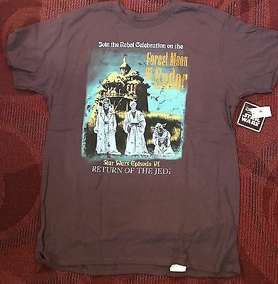 Star Wars Disney Parks Haunted Mansion Return of the Jedi Yoda T-Shirt ALL SIZES