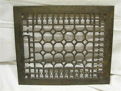 Cast Iron Floor Victorian Register Heat Grate Vent Grille Architectural 8 X 10 A