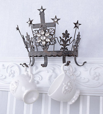 Madonna (Virgins) Crown Royal Crown Wall Coat Rack Metal Crown Hook Rail Antique