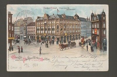 [59462] 1901 PC BERLIN BREWERY HOUSE with FIRE PROTECTION with EXHIBIT CANCEL