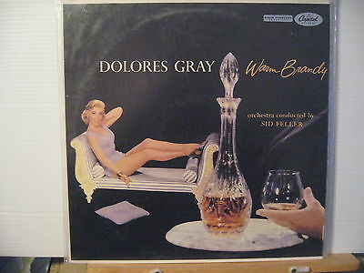 Dolores Gray - Warm Brandy- Vinyl Lp - Free UK Post  Reissue