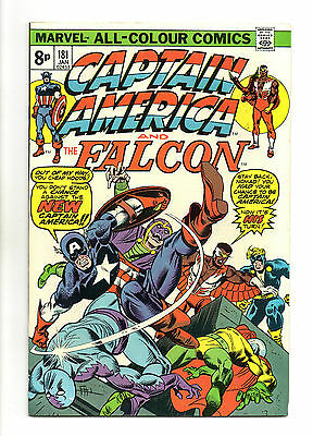Captain America Vol 1 No 181 Jan 1975 (VFN+) Bronze Age (1970 - 1979)