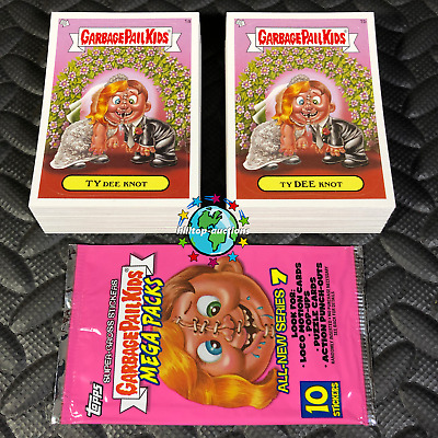 Garbage Pail Kids Ans7 Complete 110-Card Set 2008 All-New Series 7 +Free Wrapper