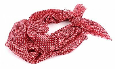 SCOTCH & SODA Lightweight Printed Scarf Tuch Schal Shawl Damen Rot Red A Neu