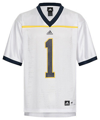 NCAA College Football Trikot Jersey University MICHIGAN WOLVERINES  1 white