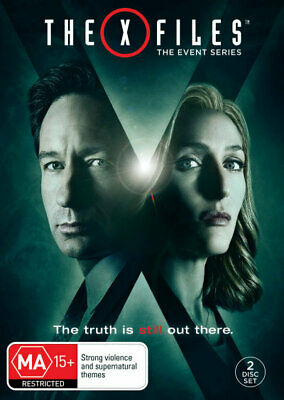X-Files Season Series 10 / Event Series 2016 DVD R4 New! *