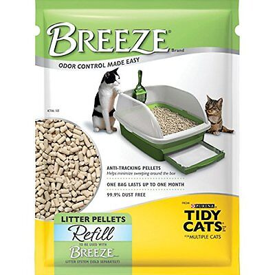 NEW Purina Tidy Cats Refill Cat Litter Pellets 3.5 lb. Pouch pack of 6