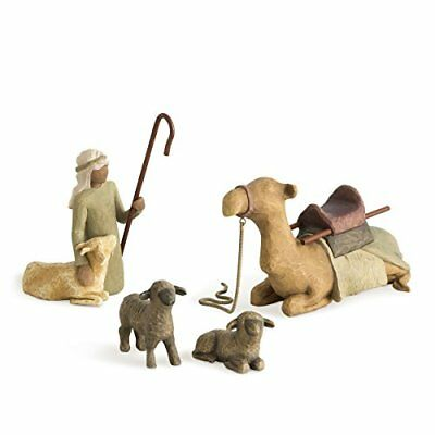 Willow Tree Shepherd Stable Animals 4 piece set of figures by Susan Lordi 26105