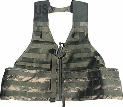 Official US Military MOLLE II Army ACU Fighting Tactical Assault Vest Carrier