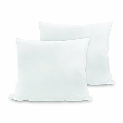 NEW Natures Rest   28 by 28 Inch Euro Square Pillows 2 Pack