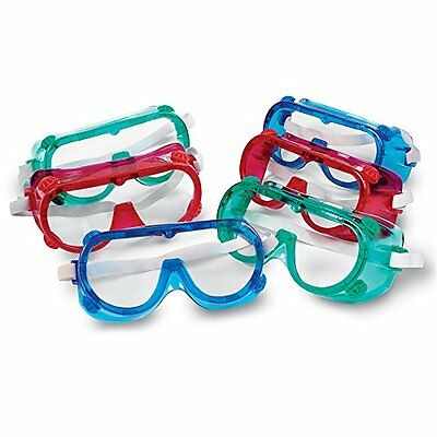 NEW Learning Resources Colored Safety Goggles FREE SHIPPING