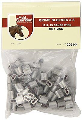NEW Field Guardian 100 Pack Crimp Sleeve FREE SHIPPING