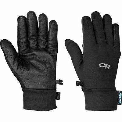 NEW Outdoor Research Mens Sensor Gloves Black Small FREE SHIPPING