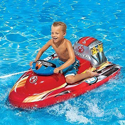 Banzai Motorized Speed Boat Blast Your Friends As You Speed Through The Pool!