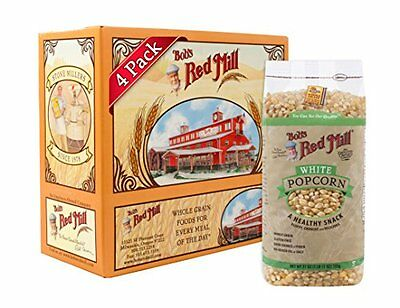NEW Bobs Red Mill Whole White Popcorn 27 ounce Pack of 4 Package May Vary