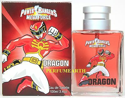 Saban's Power Rangers Mega Force Dragon 3.3/3.4oz. Edt Spray For Kids New In Box