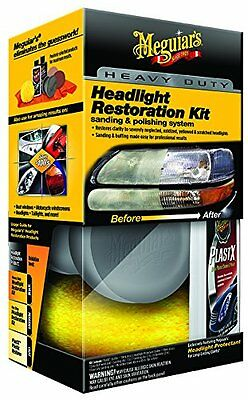 NEW Meguiars G3000 Heavy Duty Headlight Restoration Kit FREE SHIPPING