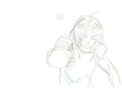Anime Genga not Cel Fullmetal Alchemist 2 pages #244