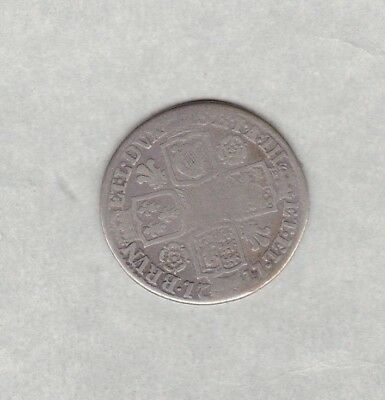 1821 George Iiii Crown In A Well Used Fine Condition