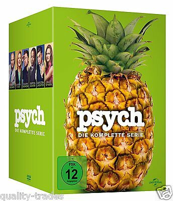 ❏ Psych : The Complete Series Seasons DVD 1 2 3 4 5 6 7 8 Box Set + EXTRAs ❏ 1-8