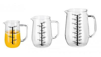 Stellar Stain Resistant Glass 300ml, 500ml or 1Lt Cook's Measuring Jug
