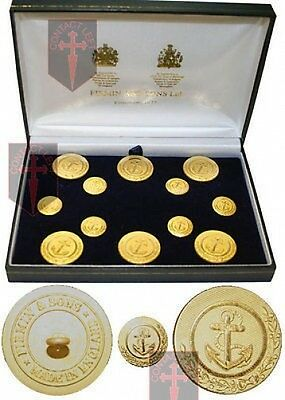 Official Admiral Lord Nelson Buttons as Worn in Battle of the Nile and Trafalger